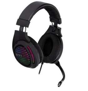 Herní sluchátka s mik TRACER GAMEZONE Aligator RGB LED