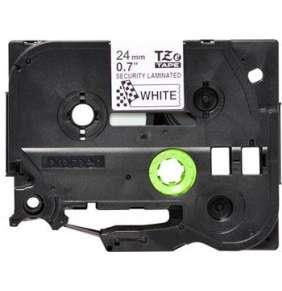Brother - TZe-SE5, bílá / černá (24mm,plombovací)