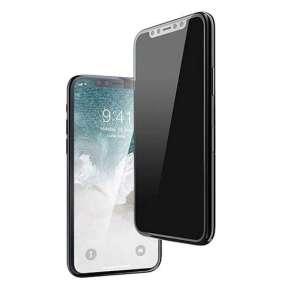Devia ochranné sklo 3D Real Series Privacy pre iPhone SE 2020 - Black Frame