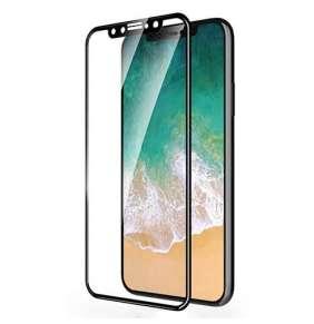 Devia ochranné sklo 3D Real Series pre iPhone SE 2020 - Black Frame