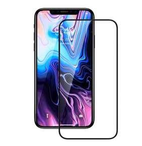 Devia ochranné sklo Van Entire View pre iPhone SE 2020 - Black Frame