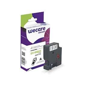 WECARE páska pro DYMO S0720530, White/Transparent, 12mm x 7m