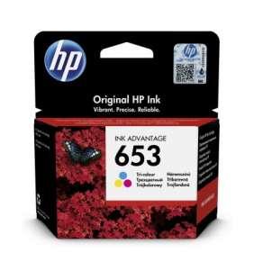 HP 653 tříbarevná inkoustová náplň (3YM74AE)