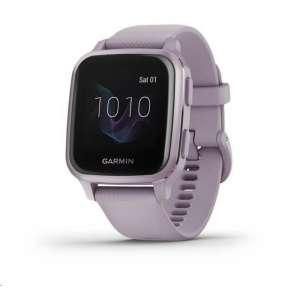 Garmin GPS sportovní hodinky Venu Sq, Orchid/Orchid Band