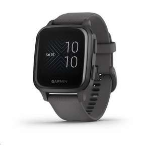 GARMIN sportovní GPS hodinky Venu Sq, Slate/Gray Band