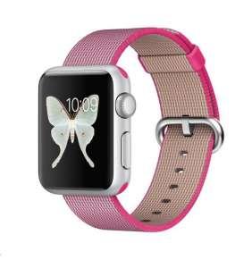 COTEetCI nylonový řemínek pro Apple Watch 42 / 44mm růžový