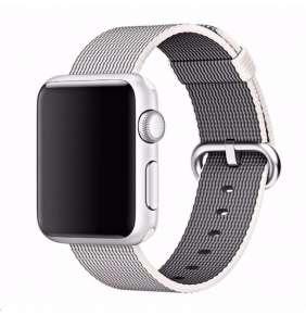 COTEetCI nylonový řemínek pro Apple Watch 38 / 40mm šedý