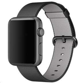 COTEetCI nylonový řemínek pro Apple Watch 38 / 40mm černý