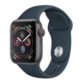 COTEetCI silikonový sportovní náramek pro Apple watch 38 / 40 mm tmavě zelený