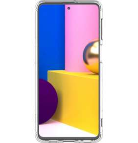 Samsung Průhledný zadní kryt pro M31s Transparent