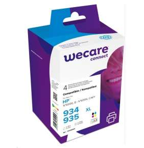 WECARE ARMOR cartridge pro HP OfficeJet 6812,6815,Officejet Pro 6230,6830,6835, černá/black+1C+1M+1Y, 1x45/3x12ml