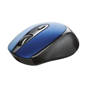TRUST bezdrátová Myš Zaya Rechargeable Wireless Mouse - blue