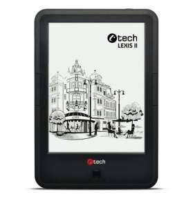 E-book C-TECH Lexis II (EBR-62), quad core, Android, dotyková HD obrazovka s dvojím podsvícením, Wi-