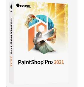 PaintShop Pro 2021 Mini Box - Windows EN/DE/FR/NL/IT/ES