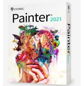 Corel Painter 2021 ML UPG EN/DE/FR - BOX