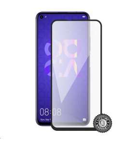 Screenshield HUAWEI Nova 5T Tempered Glass protection (full COVER black)