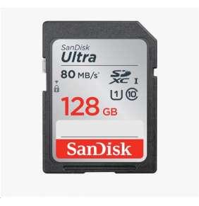 SanDisk SDXC karta 128GB Ultra (100MB/s Class 10 UHS-I)