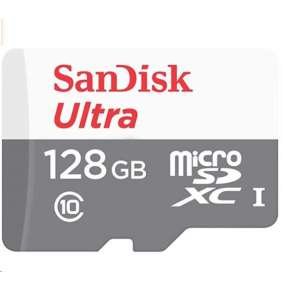 Sandisk MicroSDXC karta 128GB Ultra (80MB/s, Class 10 UHS-I, Android)