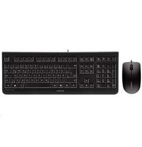 CHERRY set klávesnice + myš KC1000 + MC1000 / drátový/ USB/ černá/ CZ+SK layout