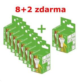 Bellalux ECO LED PAR16 36° 5W 827 GU10 350lm 2700K (Karton 8 ks + 2 ks zdarma)