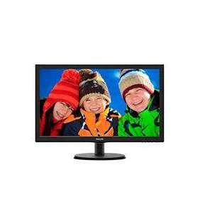 "Philips 21,5"", TN LCD, W-LED, 1920x1080/60Hz, 16:9, 5ms, 10M:1, 1000:1, 250cd, VGA, DVI-D, black"