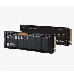 WD BLACK SSD NVMe 1TB PCIe SN850,Gen4 , (R:7000, W:5300MB/s)+Chladič