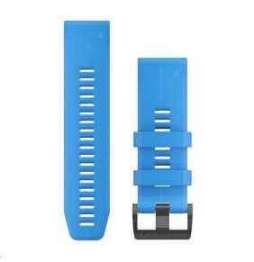 Garmin řemínek pro fenix5X Plus - QuickFit 26, modrý