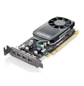 Lenovo ThinkStation Nvidia Quadro P620 2GB GDDR5 Mini DPx4 Graphics Card with LP Bracket