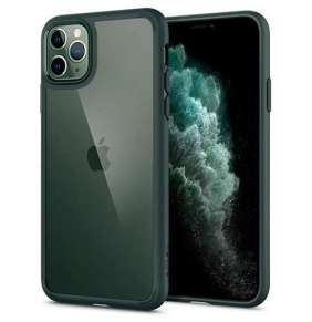 Spigen kryt Ultra Hybrid pre iPhone 11 Pro - Midnight Green