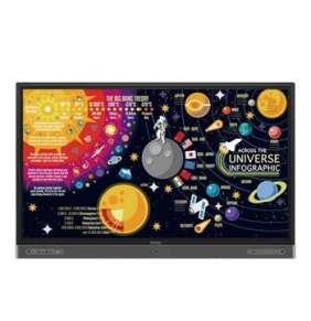 """BenQ LCD RP6502K 65"""" 3840x2160/1200:1/8ms/350cd/20-point touch/HDMI2.0x3/VGA/9xUSB/RJ45/3xRepro/VESA"""