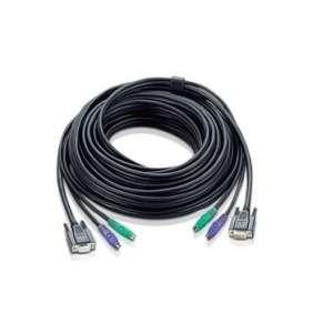 ATEN sdružený kabel 1.8M PS/2 KVM Cable