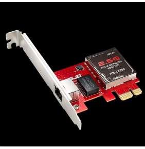 ASUS PCE-C2500 Síťový adapter 2.5GBase-T PCIe se zpětnou kompatibilitou 1G/100Mb/s, RJ45 port