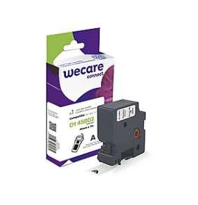 WECARE páska pro DYMO S0720830, Black/White, 19mm x 7m