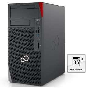 FUJITSU PC CEL W5010 I7-10700K 2x16GB 512GB NVMe 2xDP DVDRW SD 680W W10PRO myš, bez klávesnice - 3r.on site