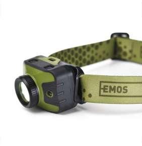 EMOS LED čelovka CREE LED + ZOOM (P3539)