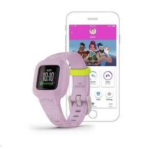 GARMIN fitness tracker pro děti vívofit junior3 Pink