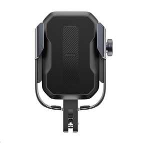 Baseus univerzální držák na mobilní telefon na kolo / motocykl Armor černá