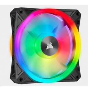 CORSAIR ventilátor QL Series QL120 RGB LED, 1x 120mm, 26dBA