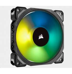 CORSAIR ventilátor ML120 PRO RGB, 120mm Premium Magnetic Levitation RGB LED PWM Fan, Single Pack