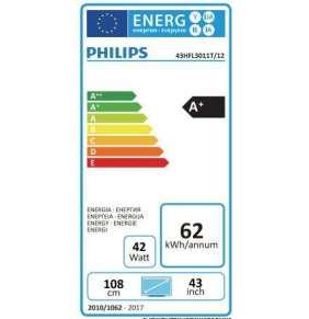 """43"""" HTV Philips 43HFL3011T - EasySuite"""