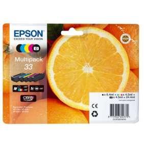 Epson inkoustové náplně - MULTIPACK/ C13T33374011/ 33 Claria Premium/ 5 barev