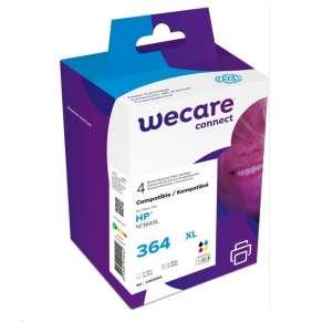 WECARE ARMOR cartridge pro HP Photosmart C5380,5510, 5515, C6380, černá/black+1C+1M+1Y/HC, 1x19/3x12ml