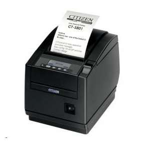 Citizen CT-S851II, BT, 8 dots/mm (203 dpi), cutter, display, black