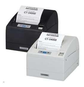 Citizen CT-S4000, USB, RS-232, 8 dots/mm (203 dpi), cutter, white