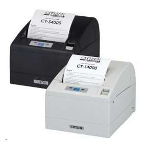 Citizen CT-S4000, USB, RS-232, 8 dots/mm (203 dpi), cutter, black
