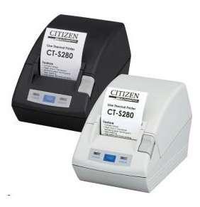 Citizen CT-S281, USB, 8 dots/mm (203 dpi), cutter, white