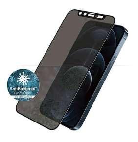 PanzerGlass ochranné sklo Camslider Privacy AB pre iPhone 12 Pro Max - Black Frame