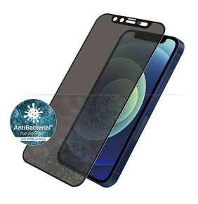 PanzerGlass ochranné sklo Camslider Privacy AB pre iPhone 12 mini - Black Frame