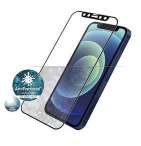 PanzerGlass ochranné sklo Friendly Case Anti-Glare pre iPhone 12 mini - Black Frame