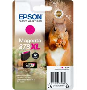 Epson Singlepack Magenta 378 XL Claria Photo HD